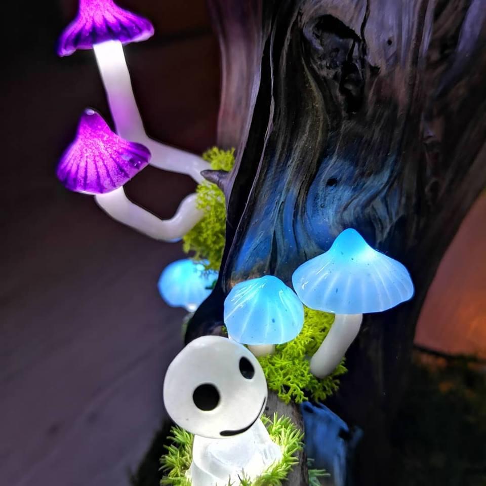 Fantasy Mushroom Lamp