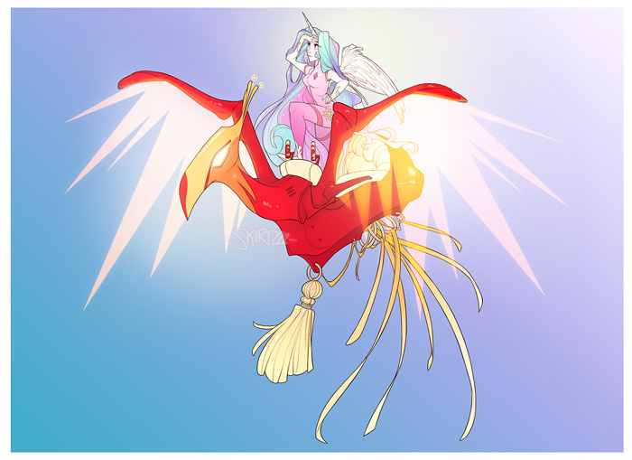 My Little Pony Final Fantasy Dressphere Fan Art