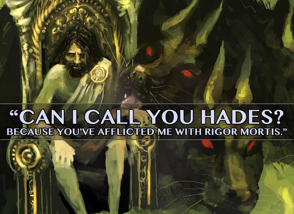 Mythological Pick Up Lines