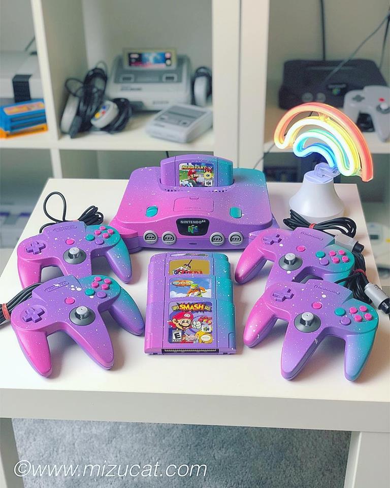 Magical Nintendo 64 Repaint