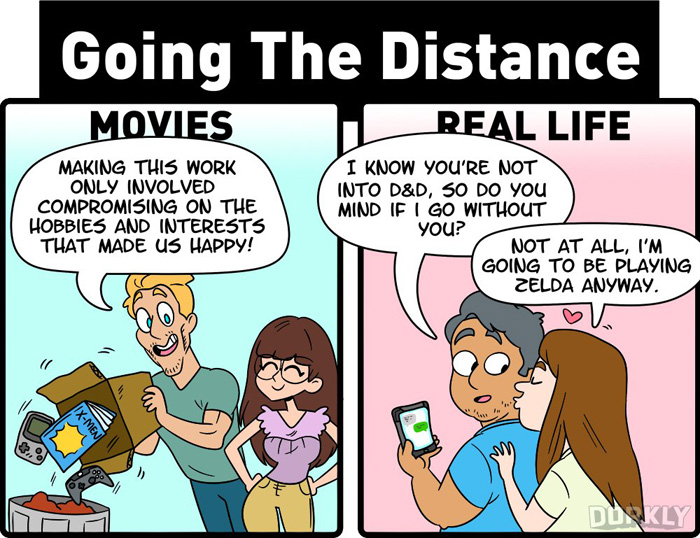 Nerdy Relationships: Movies vs Real Life