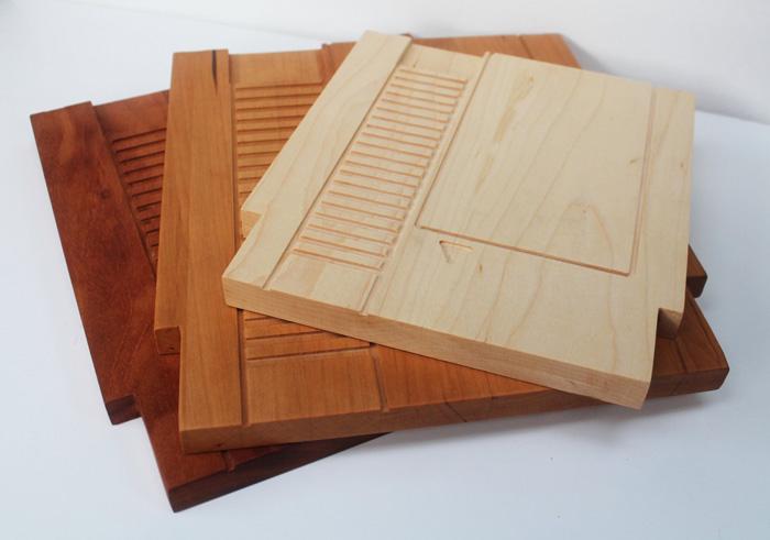 NES Game Cartridge Cutting Boards