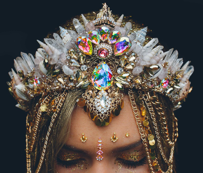 Gorgeous Costume Crowns