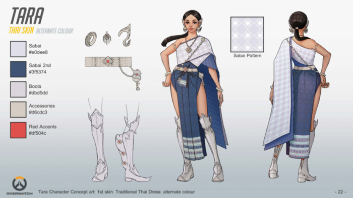 Thai Character Design for Overwatch
