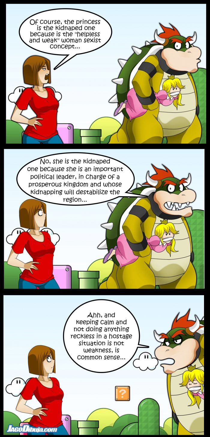 Peach and bowser sexy comic pic 285