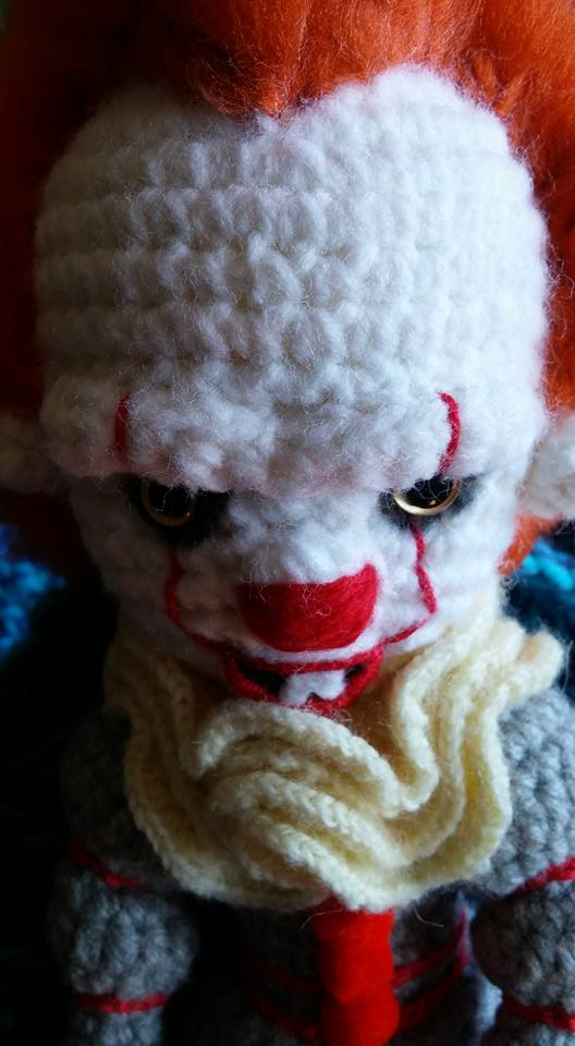 Crocheted Pennywise