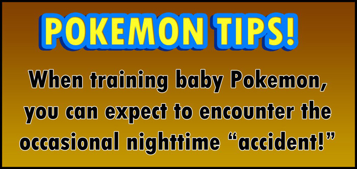The Danger of Training Baby Pokemon