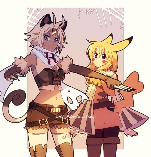 Gijinka Pokemon Fan Art