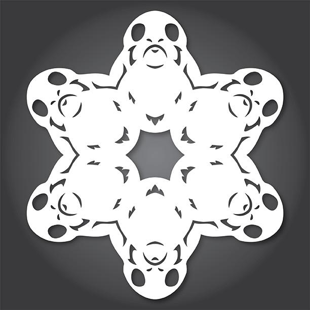 Porg Snowflakes