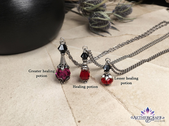 Potion Bottle Fantasy Jewelry