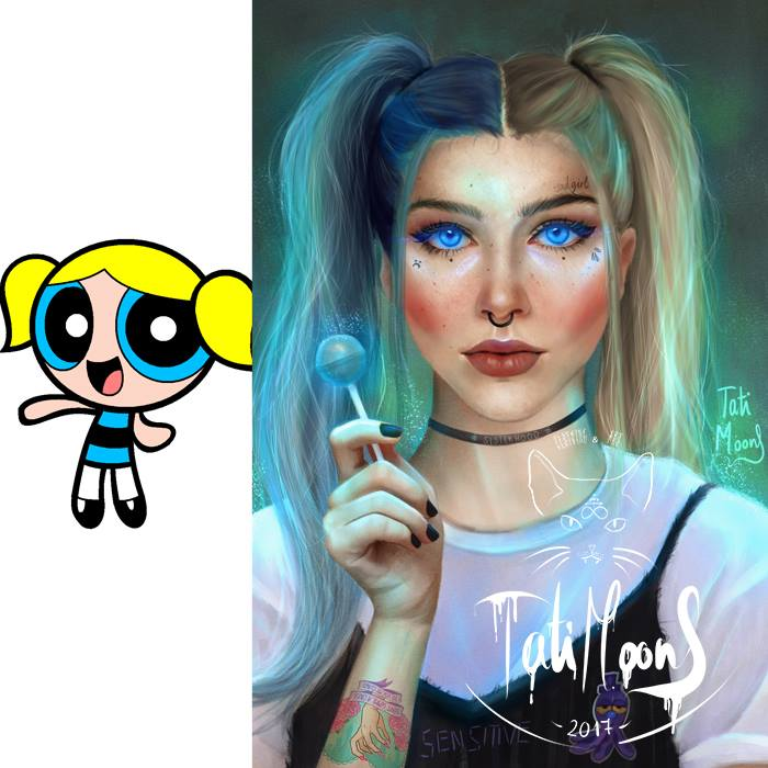 The Powerpuff Girls Grown Up Fan Art