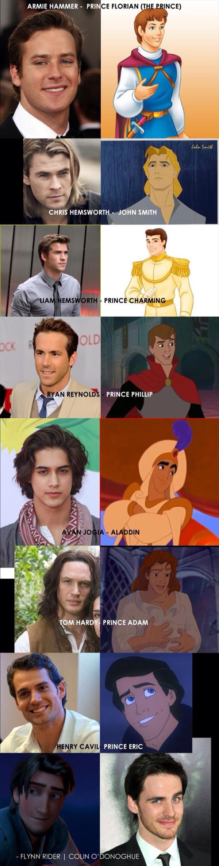 Disney Prince Fan Casting