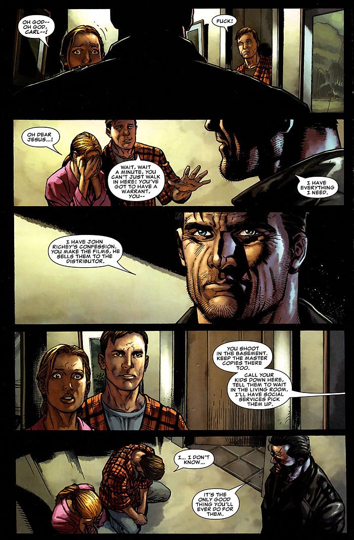 The Punisher: Widowmaker Comic Excerpt