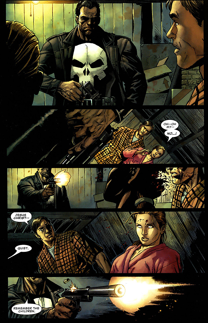 The Punisher: Widowmaker Comic Excerpt