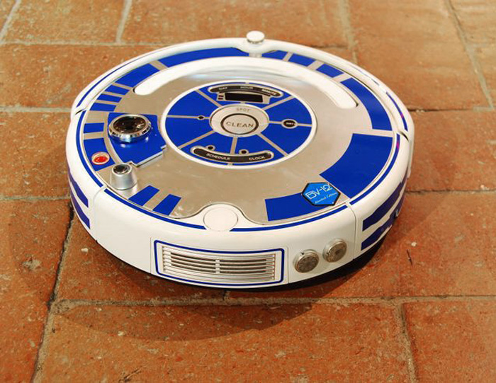 R2-D2 Roomba Skin