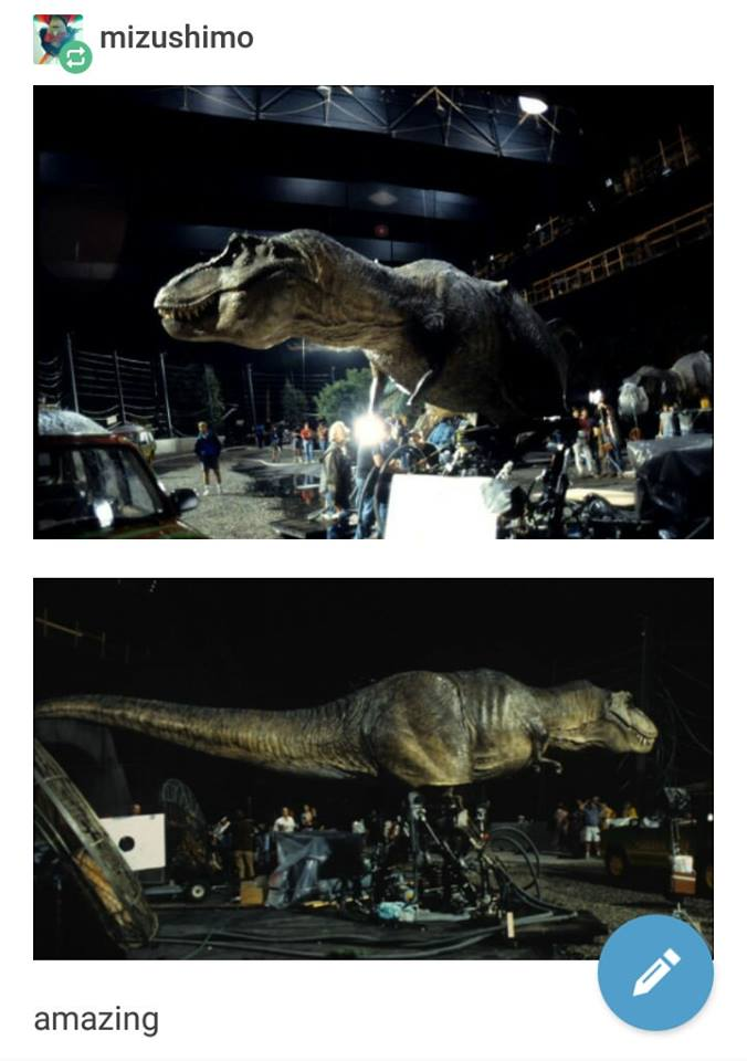 Jurassic Park Special Effects Appreciation Post