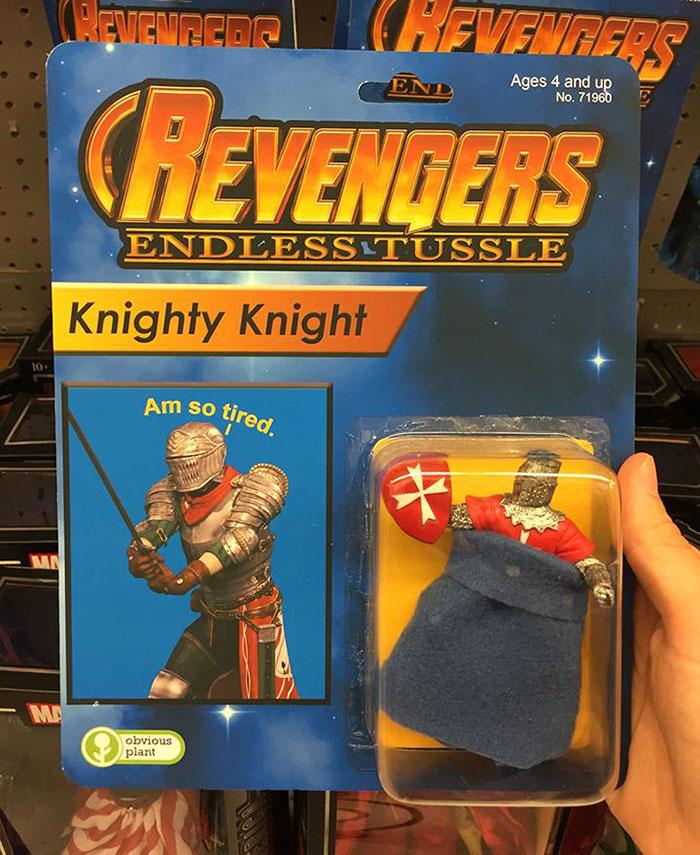 Revengers Action Figures