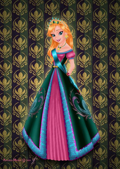 Disney Princess Royal Jewels Fan Art