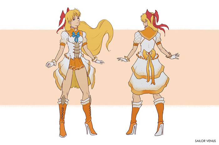 Sailor Moon Fan Art Redesigns