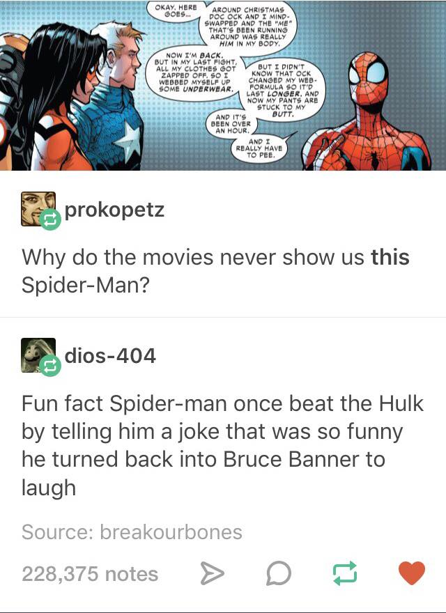 Why Spider-Man is Wearing Pants
