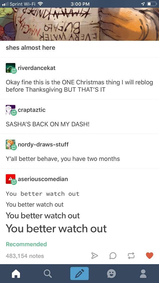 Sasha the Christmas Tiger