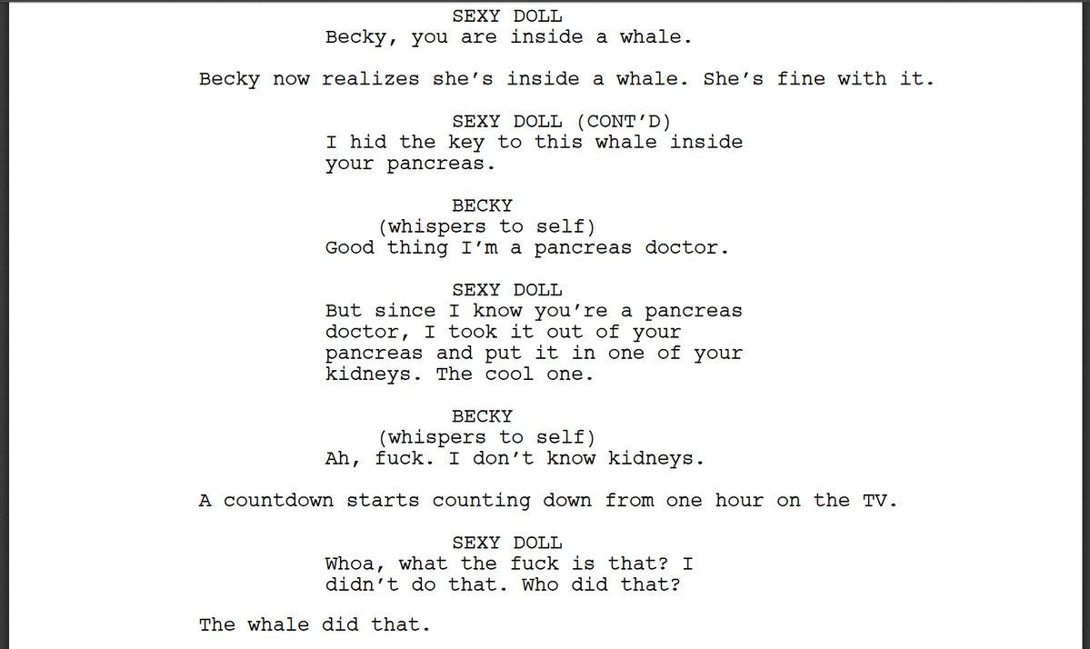 Bot Writes a Saw Movie Script