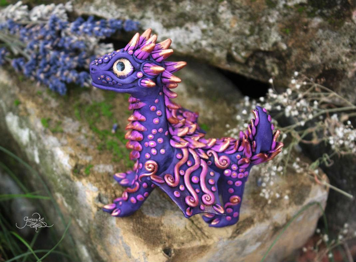Handmade Dragon Sculptures