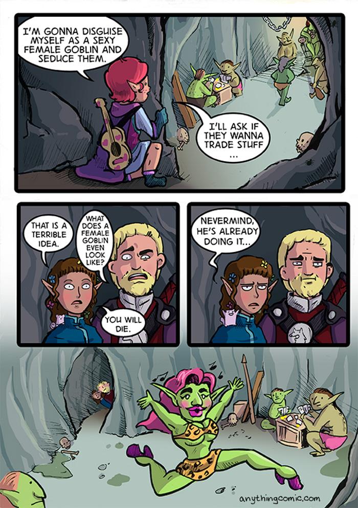 Sexy Goblin Comic