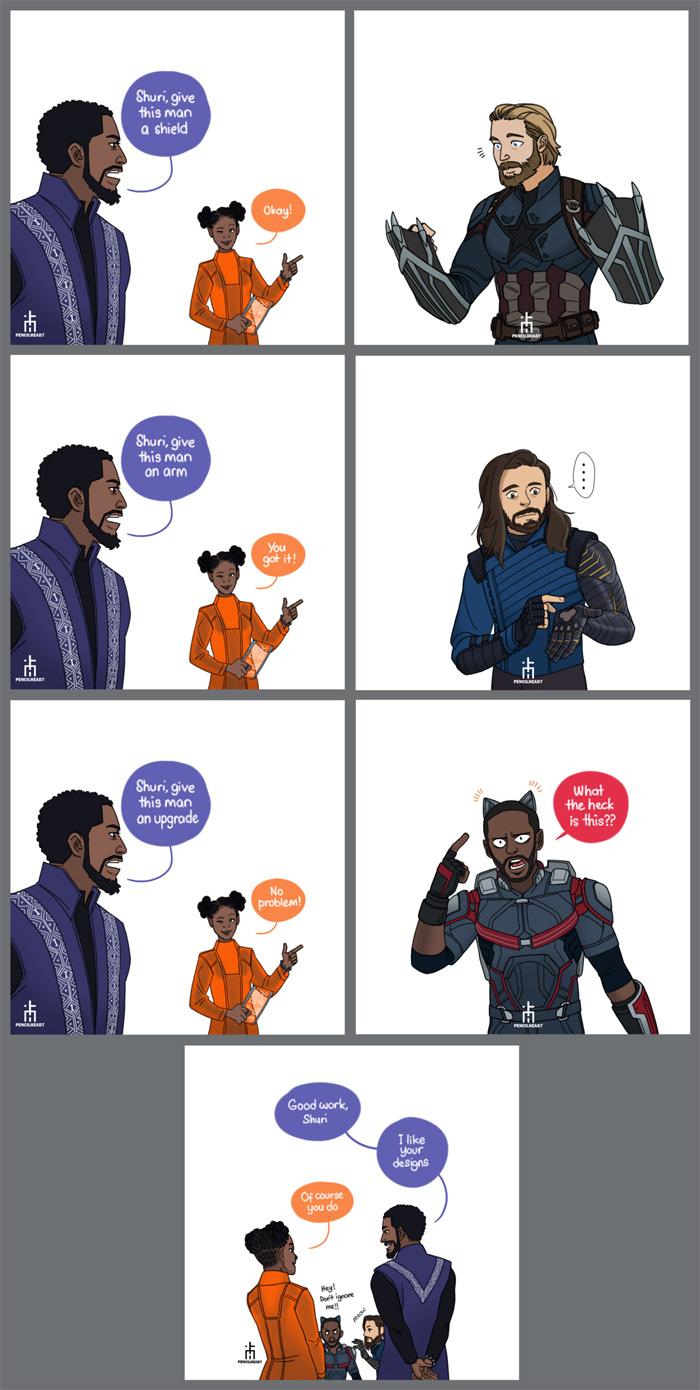 Shuris Make Over - Comic
