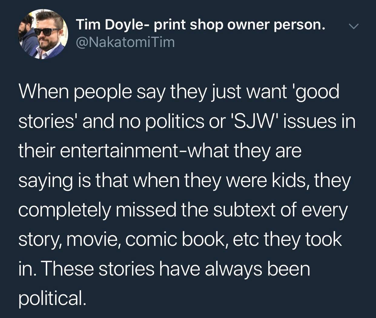 SJW Stories