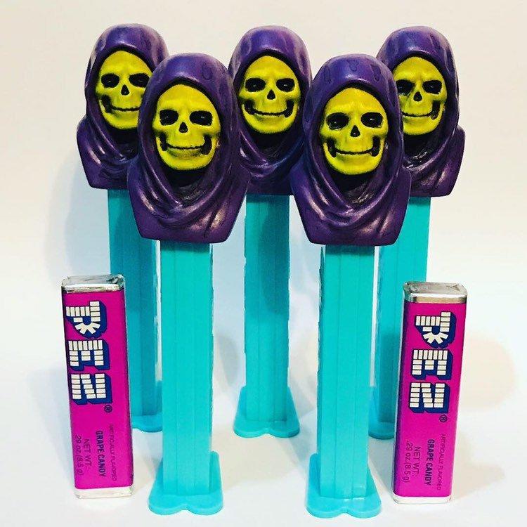 Skeletor PEZ Dispenser