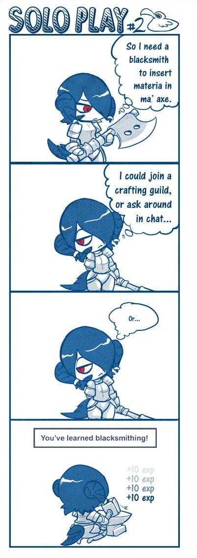 Solo Play Comics