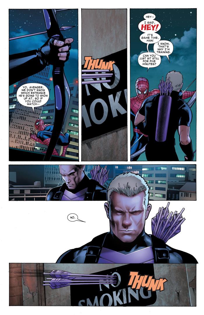 Hawkeye & Spider-Man Comic