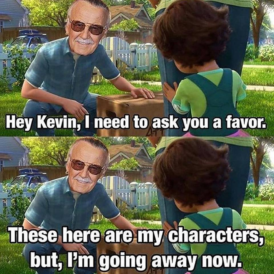 Stan Lee Meets Toy Story 3