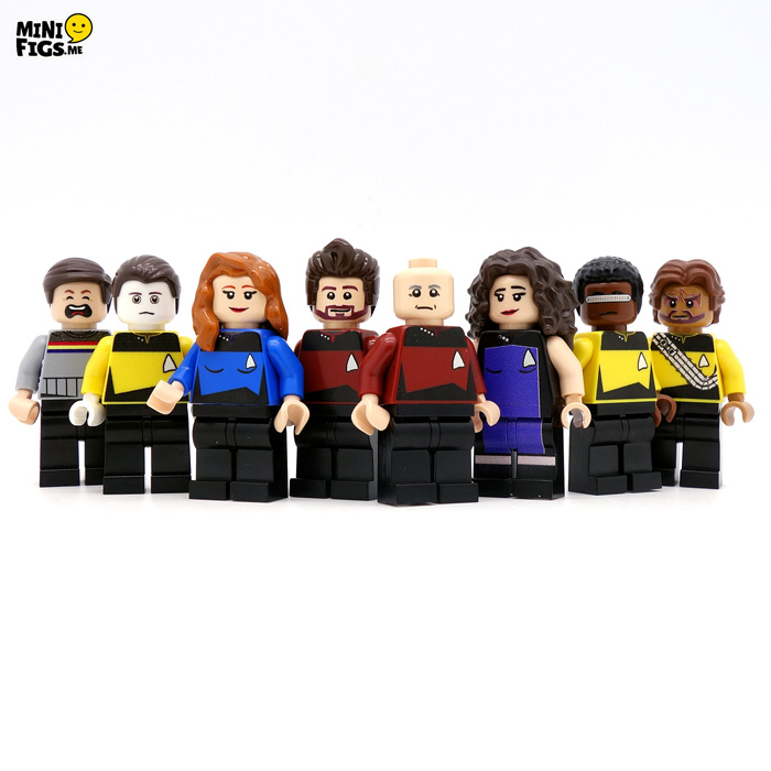 Star Trek: TNG LEGO Minifigures