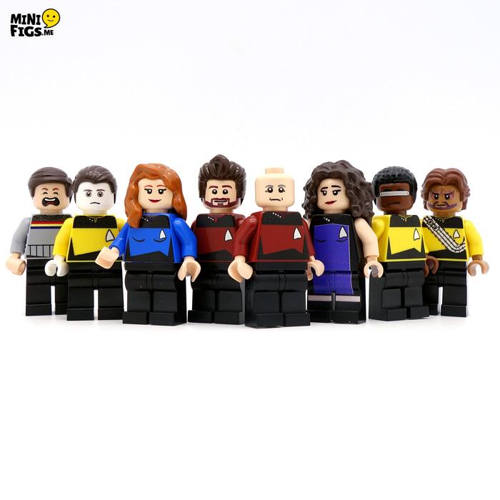 Star Trek: TNG LEGO Minifigures
