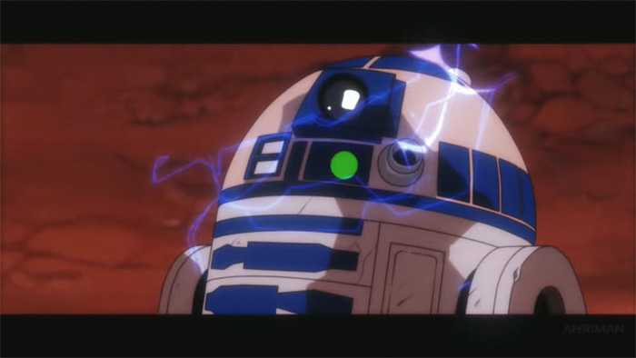 If Star Wars: A New Hope Was Anime