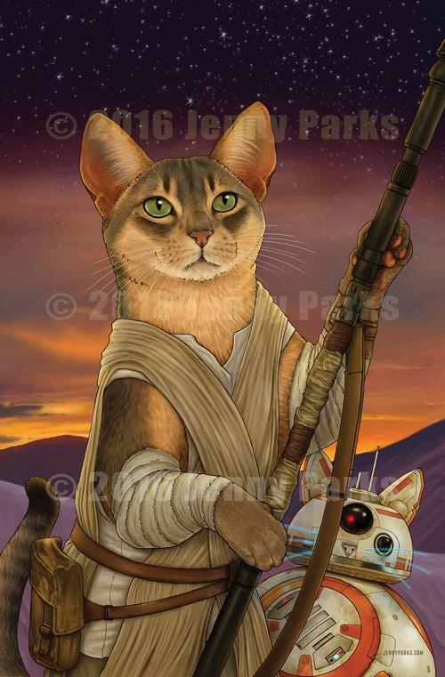 Star Wars Cats Fan Art