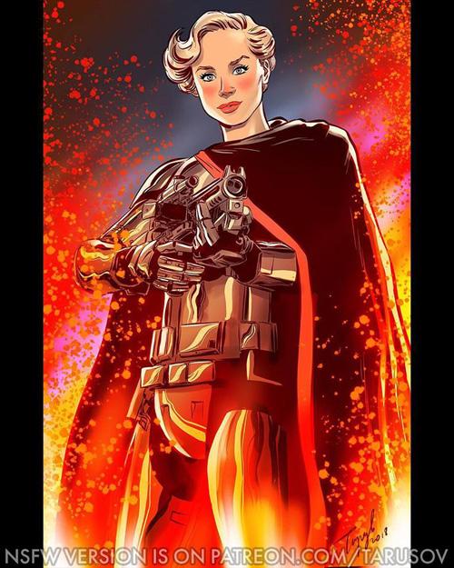 Star Wars Dark Side Pinups