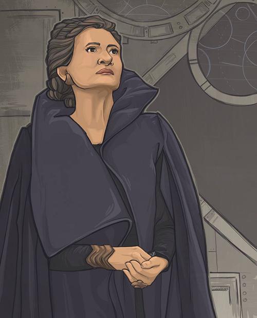 Women of Star Wars Fan Art