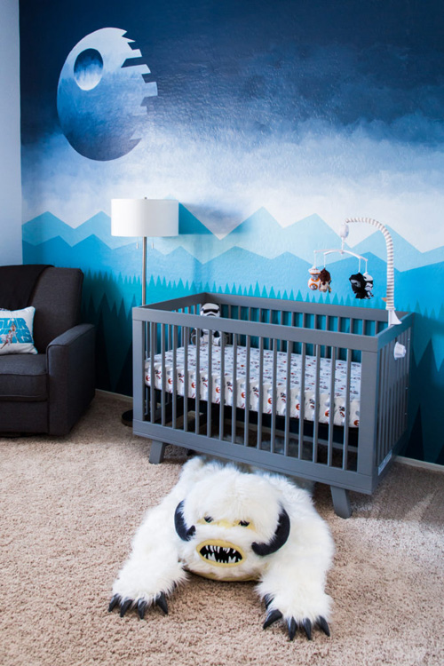 Hand Painted Star Wars Nursery