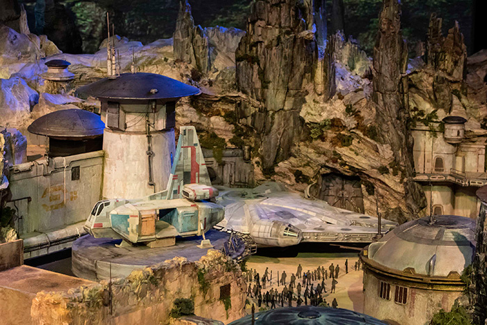 Construction Progress at Disneys Star Wars Park