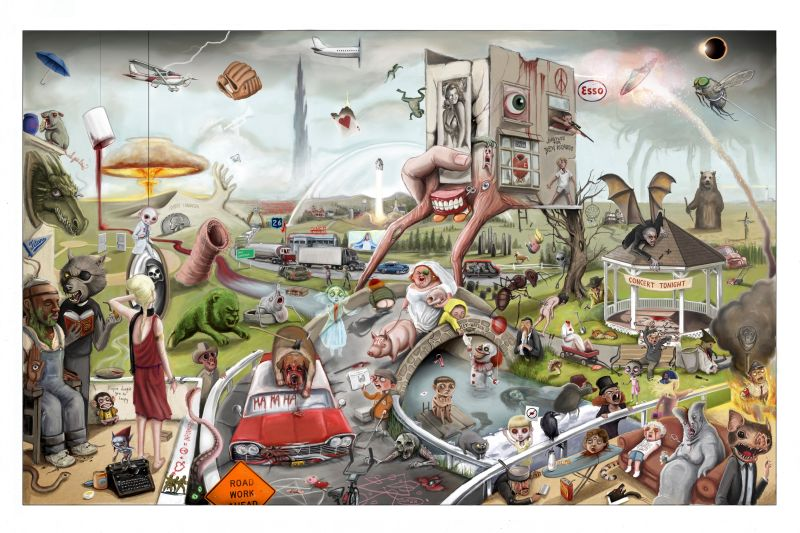 200 Stephen King References in This Poster