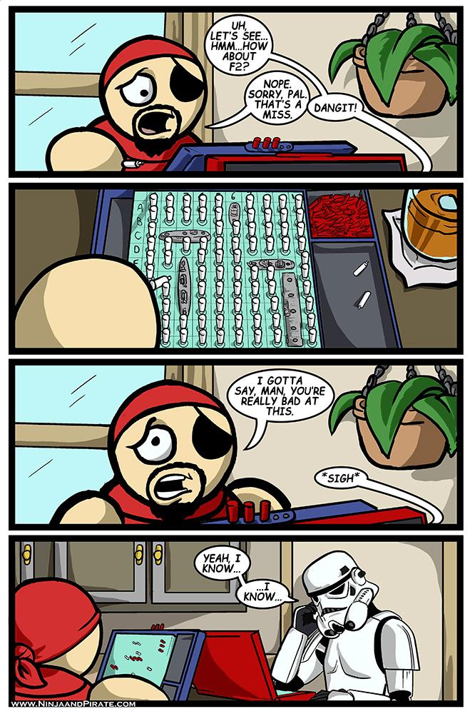 BattleStarship Comic