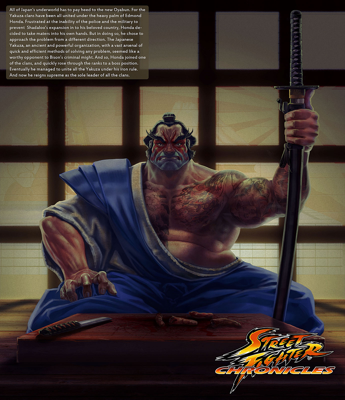 Street Fighter Chronicles Fan Art