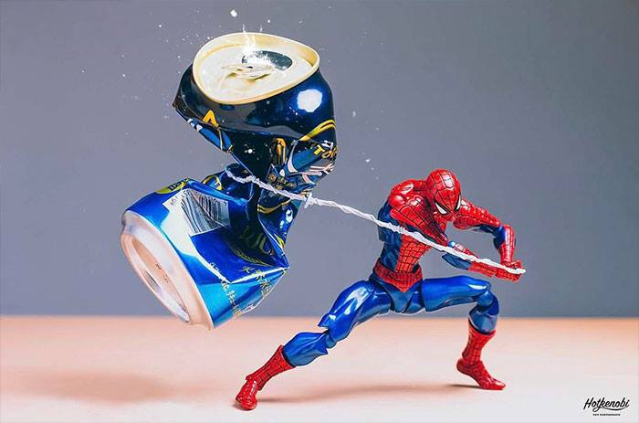 Superhero Action Figures Come to Life