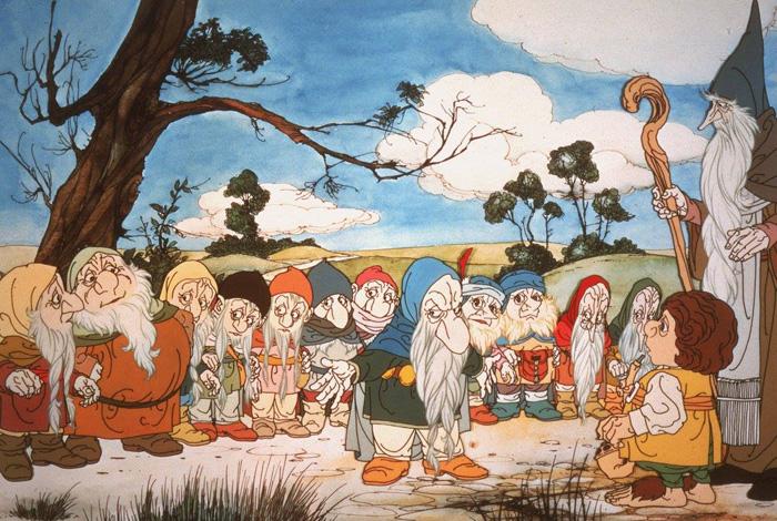 The Hobbit 1977 Art
