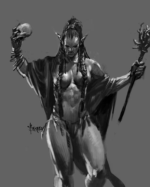 Orc Ladies Fantasy Art