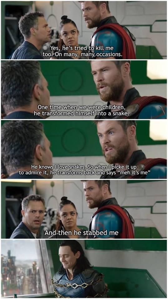 Loki is a Dick
