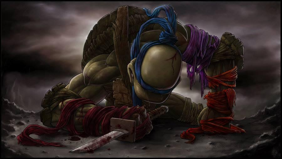 Goodbye My Brothers - TMNT Fan Art